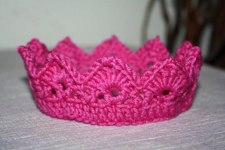 Crochet crown headbands many colours  - newborn photo prop