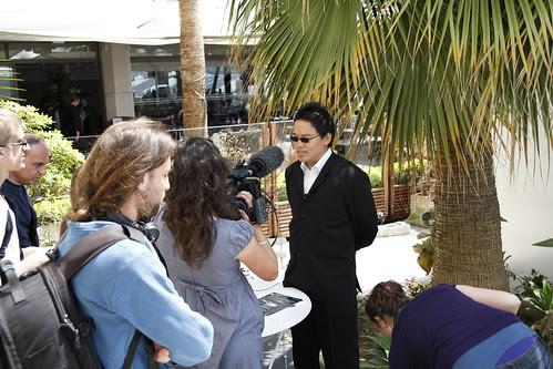 Me being interviewed