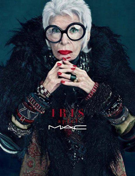 The Beauty News: MAC – קולקציית Iris Apfel (חורף 2011)