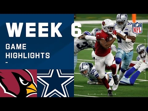 Cardinals vs. Cowboys Week 6 Highlights | NFL 2020