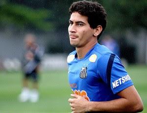 Ganso no treino do Santos (Foto: Lucas Baptista / Ag. Estado)