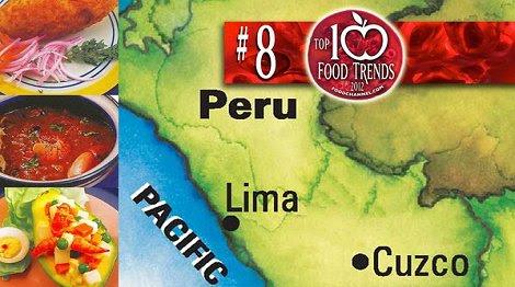 Comida peruana será tendencia mundial el 2012