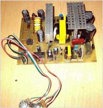 thiết lập mạch smps