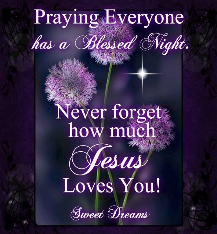 Praying Everyone Has A Blessed Night Pictures Photos And Images