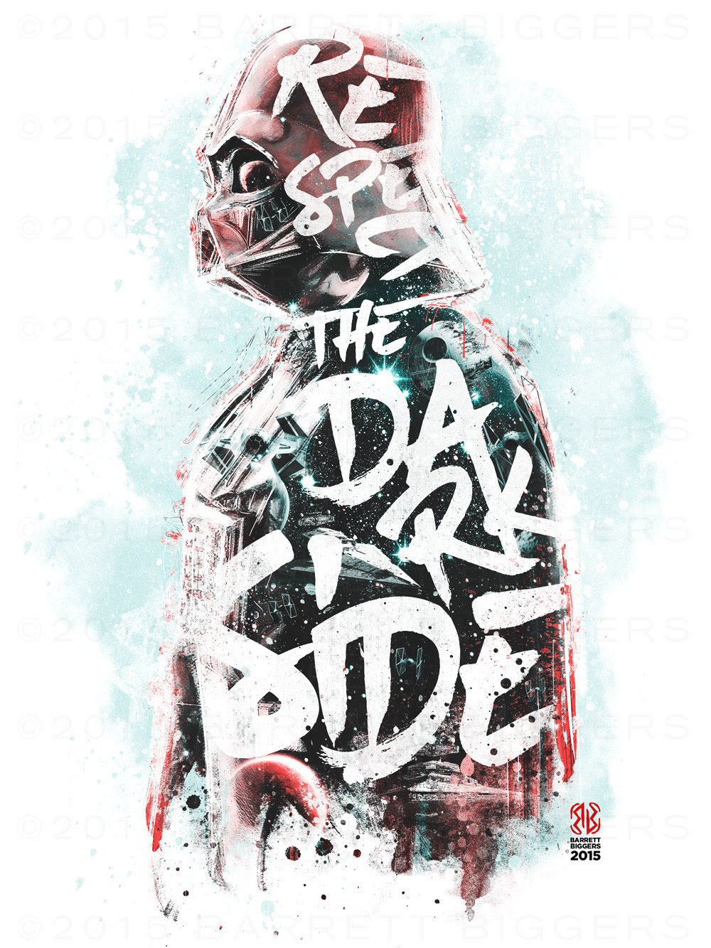 Respect the Dark Side - Created by Barrett Biggers