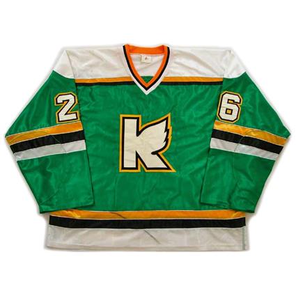 Kalamazoo Wings 89-90 jersey