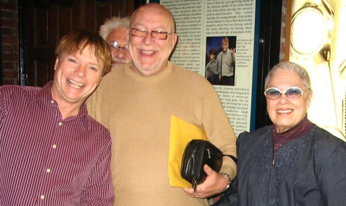 Jay Johnson with Bart and Barbara Landau