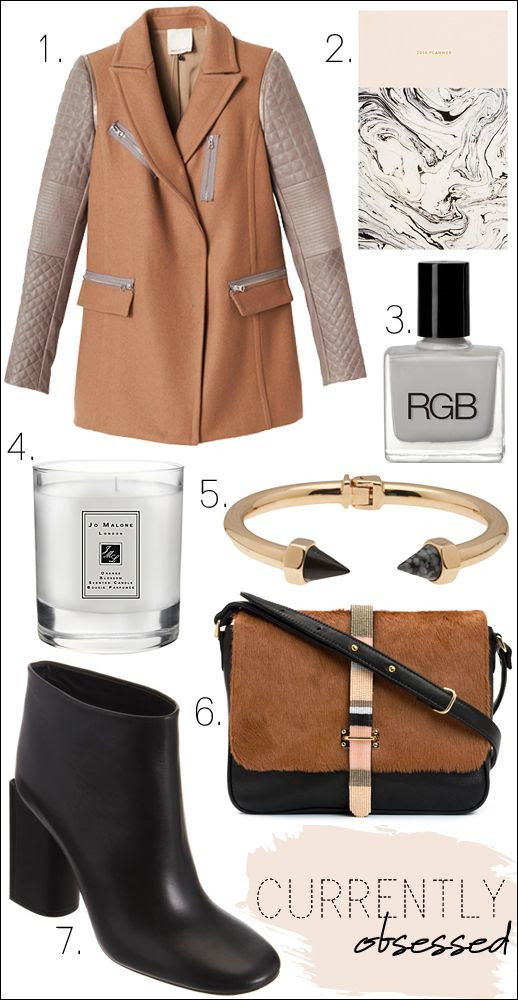 LE FASHION BLOG CURRENTLY OBSESSED NO 1 REBECCA TAYLOR TAN TAUPE LEATHER SLEEVE COAT JULIA KOSTREVA 2014 DAY PLANNER PINK MARBLE PRINT RBG NAIL POLISH DOVE LIGHT GREY GRAY JO MALONE ORANGE BLOSSOM SCENTED CANDLE VITA FEDE LUCIANO CONO BRACELET BLACK MARBLE SPIKE BRACELET LIZZIE FORTUNATO THE NINTH BAG PONYHAIR BEADED CORSSBODY SHOULDER BAG BLACK MINIMAL ROCHAS HEEL BOOTS FAVORITES GIFT INSPIRATION NUDES TANS photo LEFASHIONBLOGCURRENTLYOBSESSEDNO1LEATHERSLEEVECOATROCHASBOOTS.jpg