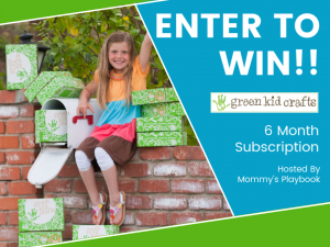 Enter to Win a Green Kid Crafts Subscription at Mommy's Playbook