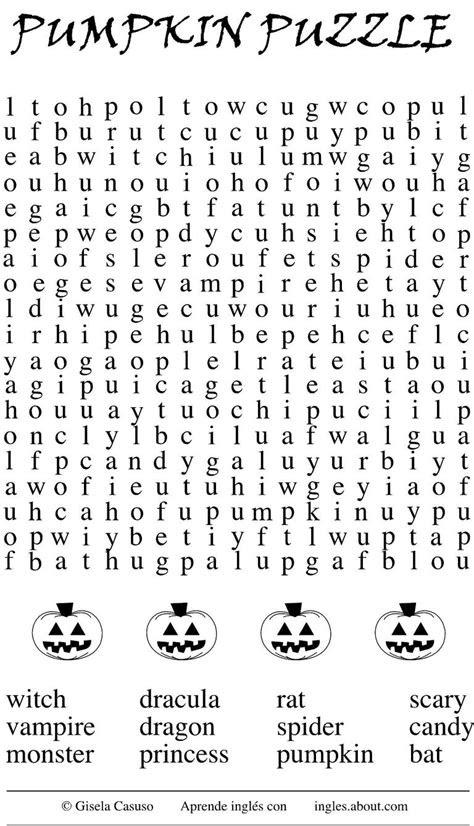 juegos de halloween  aprender ingles
