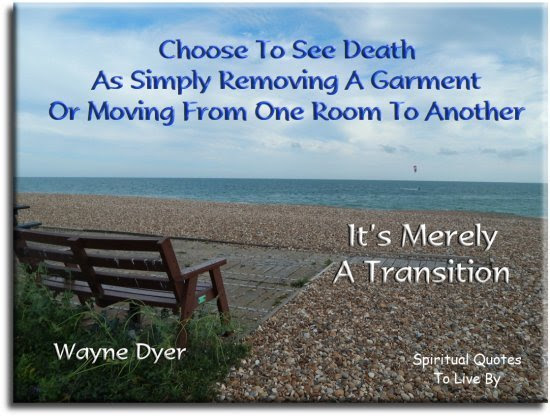 Comforting Death Quotes To Live By