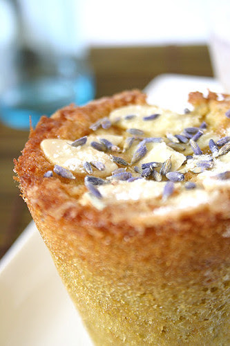 Lavender, Orange and Almond Cakes