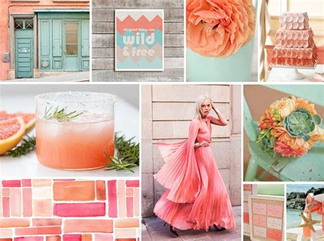 Coral   Pink Coral Wedding Decor