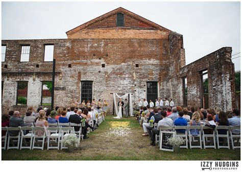 Jenn & Seth   GA State Railroad Museum Wedding   Savannah