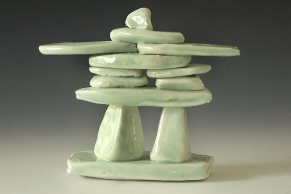 Ceramic and porcelain, Inukshuk