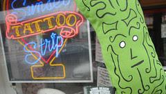 Tattooed Pickle on Sunset