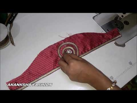 Very Beautiful Sleeves Design Cutting And Stitching For Dress And Blouse...