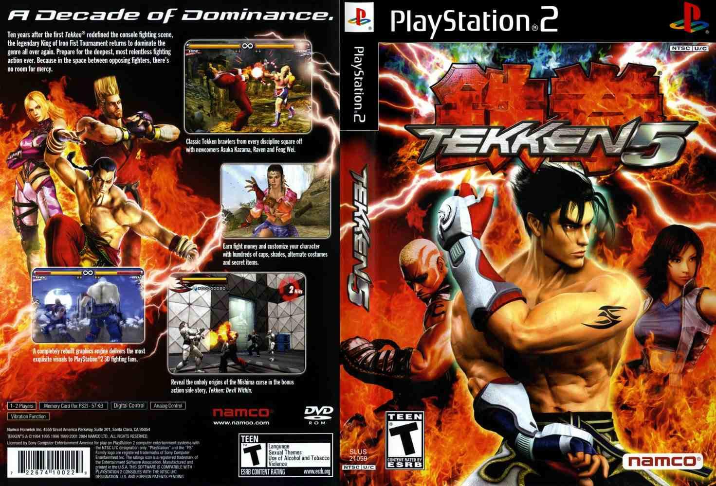 Kumpulan Cheat Tekken 5 di PS 2 Terlengkap dan Work