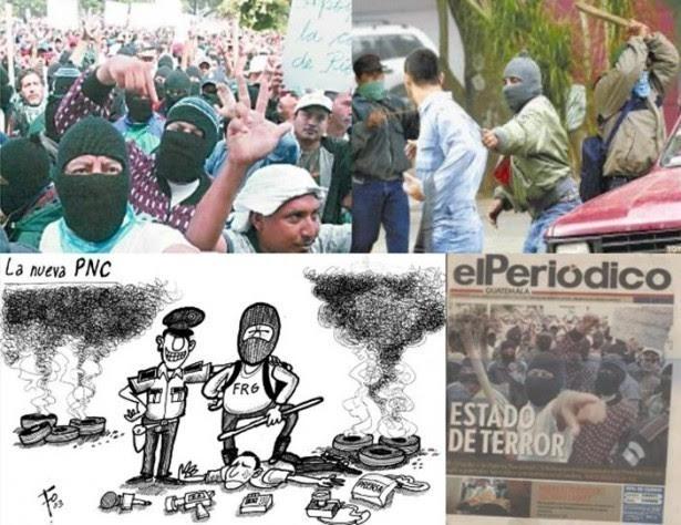 Archivos de Prensa Libre y elPeriódico. 24 y 25 de julio de 2003.