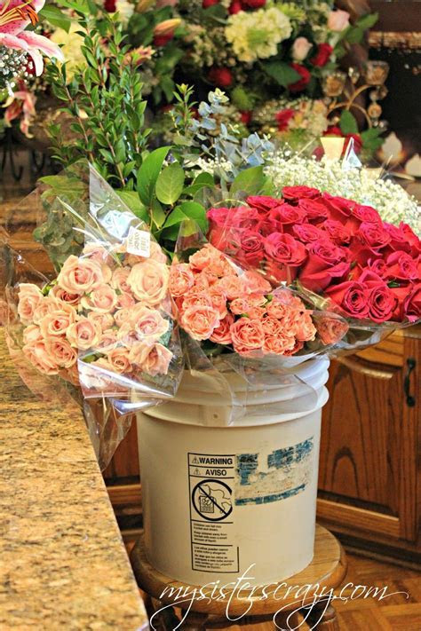 Costco Flowers, you can place large orders for weddings