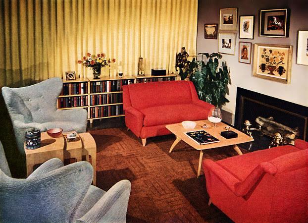 A Look at 1950′s Interior Design Art Nectar - Interior Design In The 50s And 60s YouTube