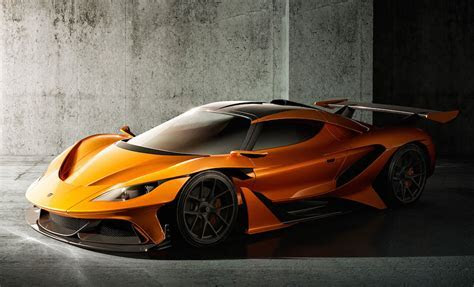 Apollo Arrow Super Car Unveiled in Geneva