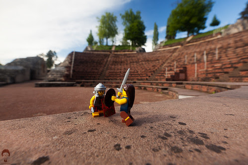 In the Roman Amphitheater by Prozac74