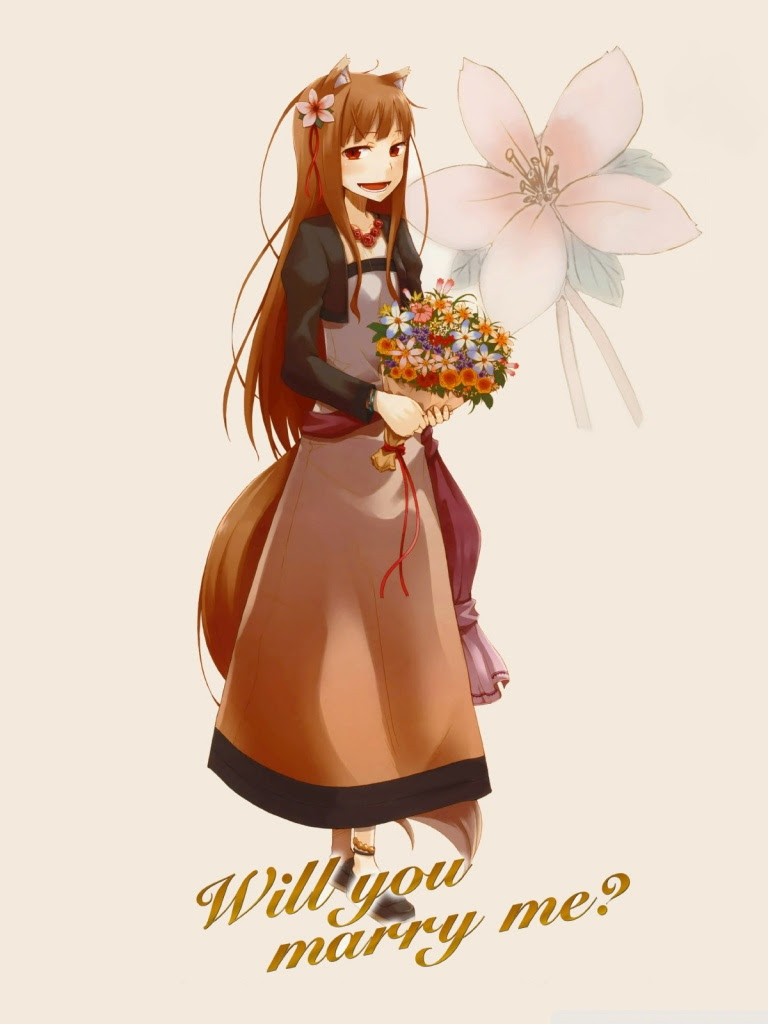 Spice And Wolf Horo Ii Ultra Hd Desktop Background Wallpaper For