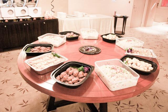 food at mbs suite