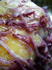 la carne y su cebolla