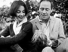 Mel Ferrer e Audrey Hepburn chegaram a trabalhar juntos no cinema nos anos 50