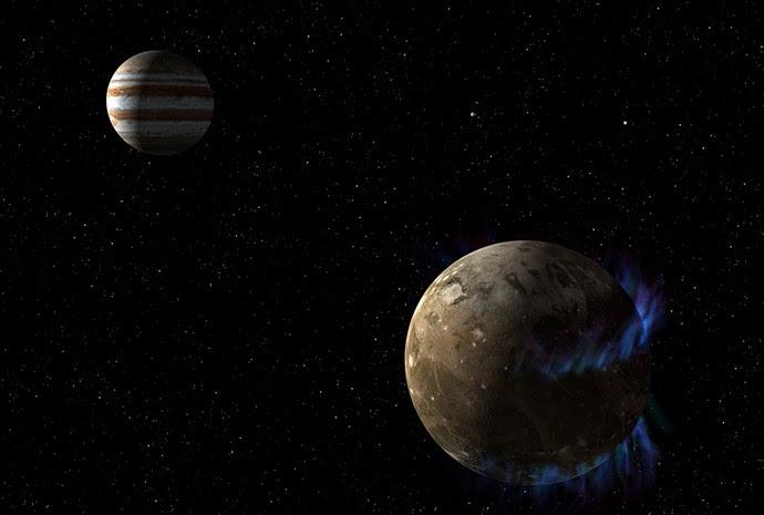 Ganimedes, lua do Sistema Solar
