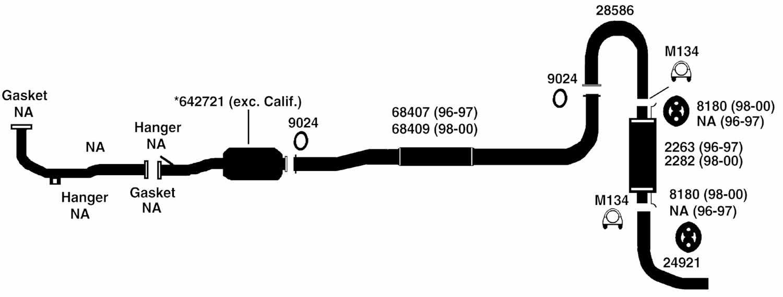 1999 Honda Civic Exhaust System Diagram - Free Wiring DiagramFree Wiring Diagram