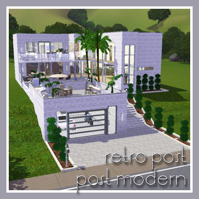 Retro Post Post Modern Mansion