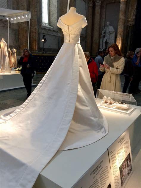 Swedish royal wedding dress exhibition ? Janet Carr