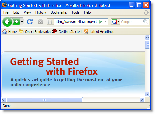 Firefox on Windows XP