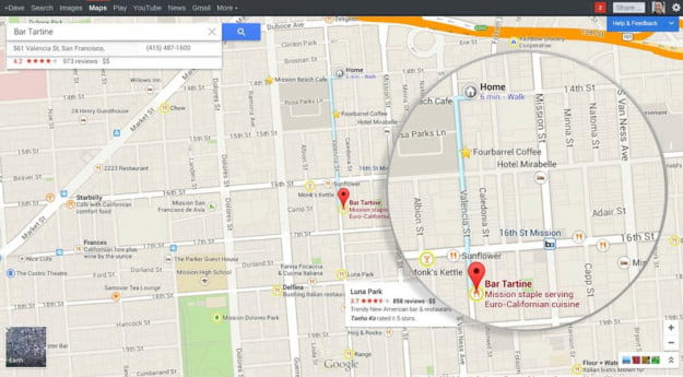 google maps preview