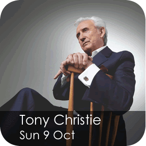 Tony Christie Sunday 9 October