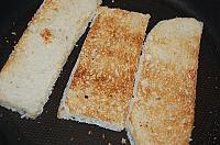 Kanape-uri rusesti cu hering marinat - Pas 2