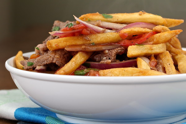 Chinese Peruvian Stir-Fried Filet Mignon | Lomo Saltado | Wok Wednesdays