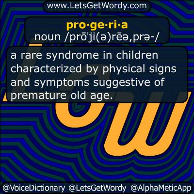progeria 06/17/2018 GFX Definition