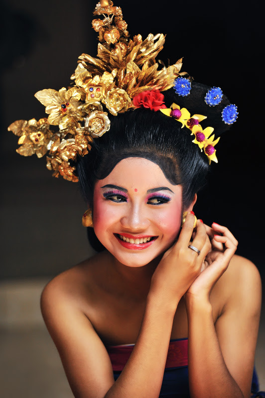 A SMILE FROM BALI, a photo from Bali, Nusa Tenggara  TrekEarth