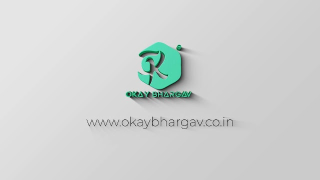 3D Logo Revel - free after effect template - Okay Bhargav
