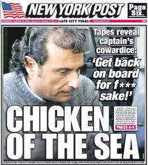 Captain Schettino - Coward of the Seas