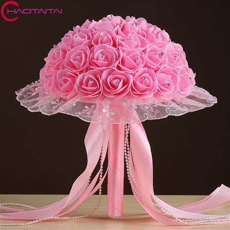 Wedding Bouquet 2017 New Flowers Top Quality buque de