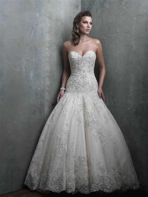 Allure Couture Fall 2014 Collection   Style C301 Wedding