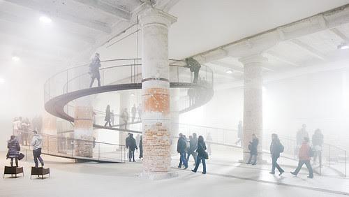 'cloudscapes', transsolar + tetsuo kondo architects, Bienal de Veneza 2010