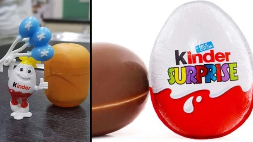 Mum Shocked To Find 'Racist' Toy Inside Kinder Egg