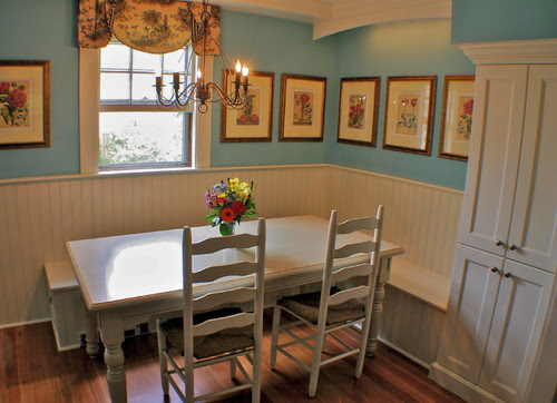Length of Kitchen table with bench - Houzz