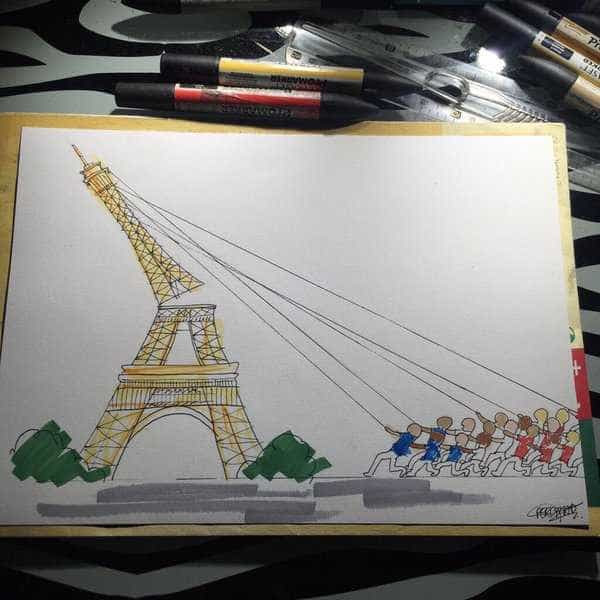PARIS | Ninguém Fica Indiferente.
